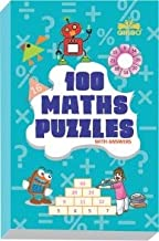 GIKSO 100 Maths Puzzles Book - Brain Boosting Mathematical Activities for Age 7+ Years Old Kids | Game Book (English)