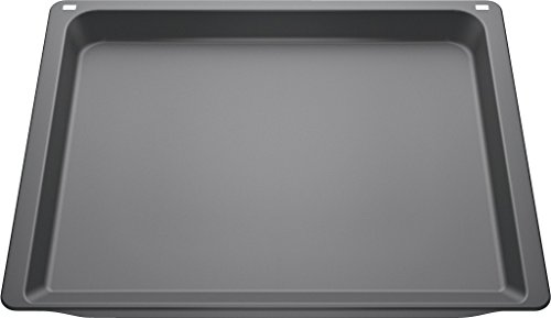 Siemens HZ632070 - Bandeja de horno (Rectangular, Negro)