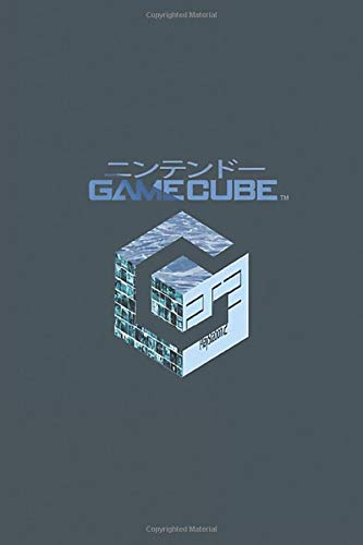 """Gamecube: Vaporwave Notebook, Journal for Writing, Size 6"""" x 9"""", 164 Pages"""