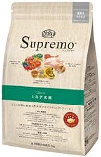正規品 シュプレモ シニア犬用 4kg ニュートロ