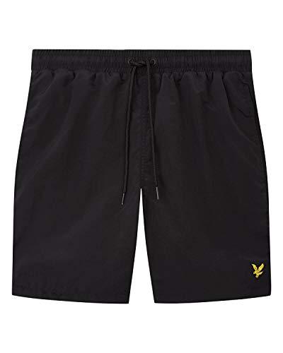 Lyle and Scott Plain Swim Shorts Herren schwarz, L