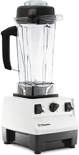 Vitamix 5200 Blender Professional-Grade, Self-Cleaning 64 oz Container, BROAGE Microfiber Cleaning Cloths (White)