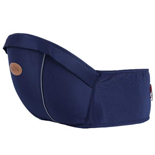 Portador de bebé ergonómico de Hipseat, asiento del taburete de la cintura para llevar a niños pequeños del bebé, peso ligero y ahorro de trabajo
