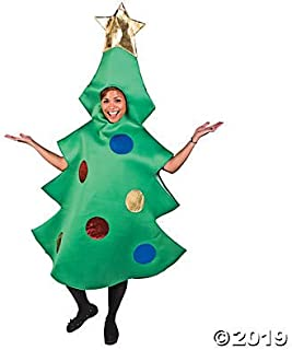 Adult Christmas Tree Costume - Perfect for Halloween and Holiday Fun