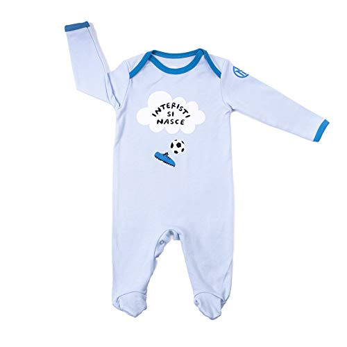Inter GIL Infant Collection 2020 Boys Tutina, Bimbo, azzurro, 3-6 MONTH
