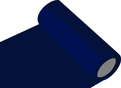 INDIGOS UG Oracal 751 von Orafol glänzend - Farbe High Performance - für Küchenschränke und Dekoration/Autobeschriftung/Schutzfolie Folie 5m - Breite 50 cm - Farbe 591 - Mitternachtsblau