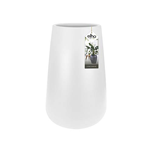 Elho Pure Cone High 45 - Blumentopf - Weiss - Drinnen & Draußen - Ø 43 x H 66.3 cm