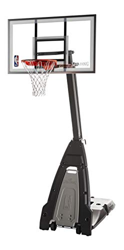 Spalding The Beast 60' Glass Portable Basketball Hoop