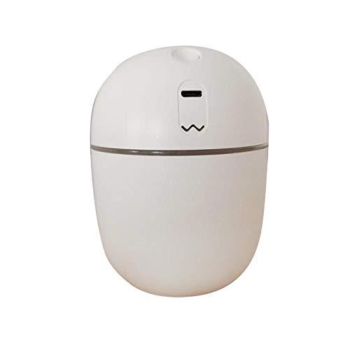 PLBB3K Humidificador 220 ml pequeño humidificador, difusor de humidificador de Niebla fría, humidificador de hogar eléctrico con ambientador de Aire LED Humidificador
