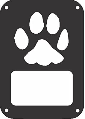 JeepTails Dog Paw - Jeep JK Wrangler Tail Lamp Covers - Set of 2