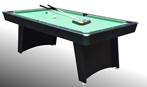 Tavolo da Biliardo Scorpione (214 cm) - Carambola - (214 cm x 118 cm x 80 cm) - Completo di Tutti Gli Accessori