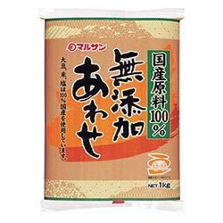 マルサンアイ 国産原料100% 無添加あわせ 1kg×10袋入×(2ケース)