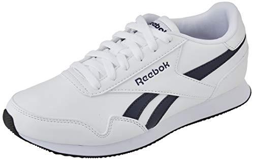 Reebok Royal CL Jogger 3, Scarpe da Corsa Unisex-Adulto, White/Collegiate Navy/Black, 42 EU