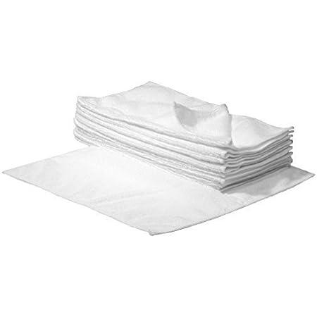 Sbs Mikrofaser Reinigungstücher 40 X 40 Cm Weiß 10 Stück Küche Haushalt