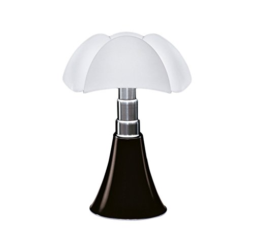 Martinelli Luce 620/L/1/MA Pipistrello Lampe de Table LED 14 W Tête de Nègre