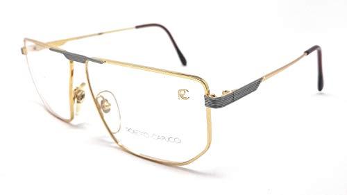 Roberto Capucci Okulare für Damen und Herren, 426 Gold und Grau KO5 VINTAGE