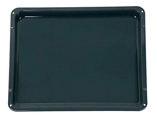 Backblech Ersatz für AEG 14002049002/9 466 x 385 x 25 mm Bratblech Fettpfanne Kombiblech Kuchenblech Emailliert für Backofen Ofen Herd
