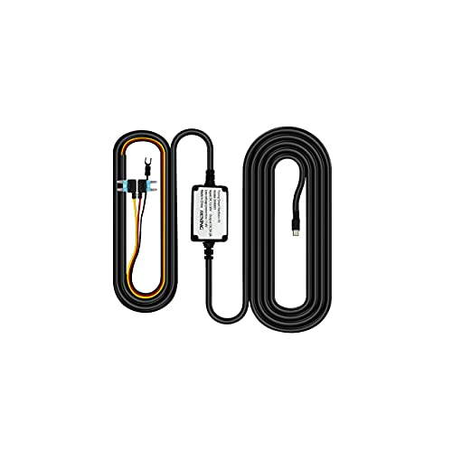 Rexing Smart Hardwire Kit Mini-USB Port for All Rexing Supercapacitor Models - V1-4K, V1P, V3, V2 Pro, V5, S1 Series, V1P Pro Series, Max Series Dash cams,etc