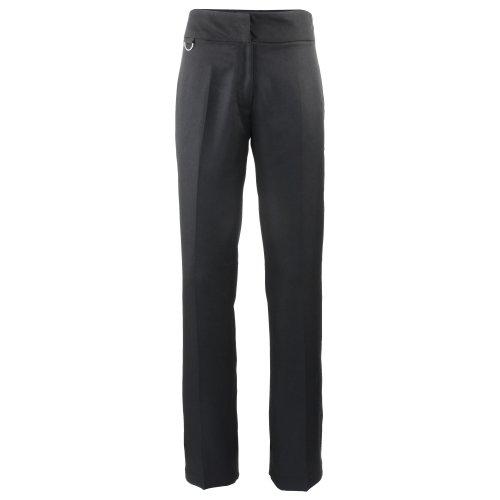 PREMIER - Pantaloni da Lavoro di Ristorazione - Donna (IT 50 - Lungo) (Nero)