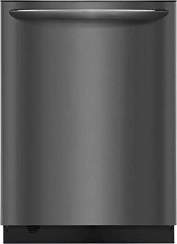 Frigidaire FGID2468UD 24' Gallery Series Built-In Dishwasher with 14 Place Settings Dual OrbitClean Energy Star Certified and Delay Start (Black Stainless Steel)