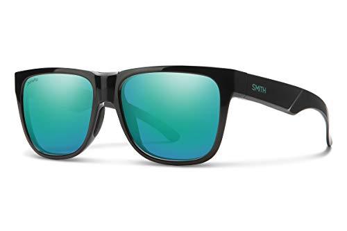 SMITH Lowdown 2 Gafas de Sol, Unisex Adulto, Black Jade/ChromaPop-Espejo polarizado de ópalo, 55