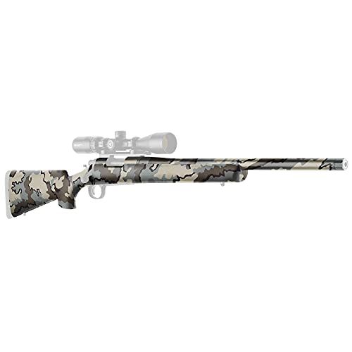 GunSkins Rifle Skin - Premium Vinyl Gun Wrap with Precut Pieces - Easy to Install and Fits Any Rifle - 100% Waterproof Non-Reflective Matte Finish - Made in USA - Kuiu Vias
