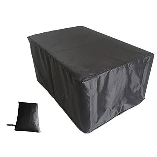 Cubiertas De Muebles De Jardín Oxford 210D,Cubiertas Cuadradas Para Muebles De Jardín,Funda De Muebles De Patio Conjunto,Cubiertas De Mesa Para Exteriores Impermeables Para Patio 123x123x74cm(L*W*H)