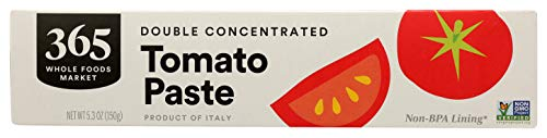 365 by Whole Foods Market, Tomato Paste, Double-Concentrated, 5.3 Ounce