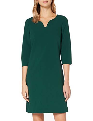 ESPRIT Collection Damen 090EO1E329 Kleid, 385/BOTTLE Green, 34