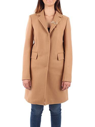 Liu Jo Jeans Cappotto Donna Cammello WF0422 T4612
