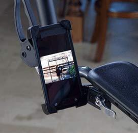 Smartphone Holder Accessory for UPWalker Upright Walker (not compatible with UPWalker Lite)