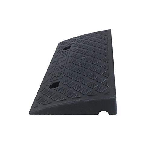 C-J-Xin Motorfiets Rampen, Kleine Multifunctionele Binnenplaats Ramps 6.8/10.5CM Zwart Licht Gewicht Kunststof Trap Mat Fiets Auto Onderdelen slijtvast