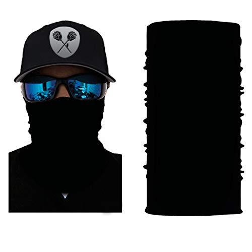 Black Roses Multifunktionstuch Herren & Damen - Wind Face Shield [Black Classic]