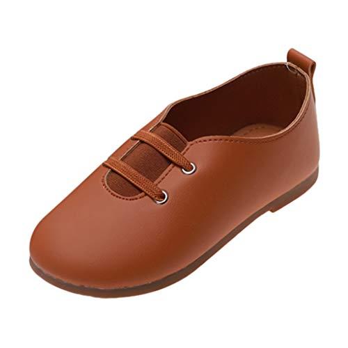 FELZ Zapatillas Bebe Niña Primeros Pasos NiñIto Zapatos De Princesa En Color Liso Zapatos Casuales Al Aire Libre con Cordones Invierno Zapatos Bebe NiñA Primeros Pasos con Suela