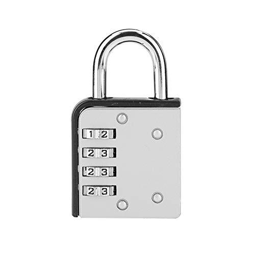 Beveiligingsslot met wachtwoord, bagageslot, 4-cijferige koffer voor school-gymnastiek, kast, gereedschapskist