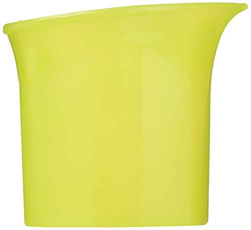 Parodi & Parodi, misurino con linee guida per uso l'acqua del ferro da stiro, dosatore con tacche di livello, art. 295 Parodi, Giallo, 15x21x2 cm