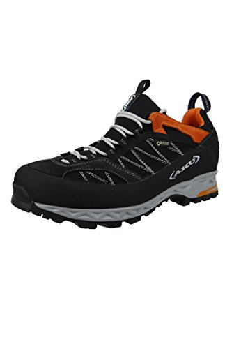 AKU Tengu Low GTX Men Größe UK 9,5 Black/orange