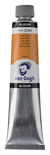 Royal Talens : Van Gogh Oil Paint : 200ml : Indian Yellow S2