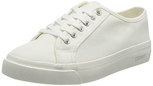 Esprit 041EK1W302, Basket Femme, 101 White 2, 41 EU