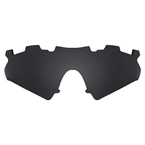 Revant Lentes de Repuesto Compatibles con Gafas de Sol Oakley M Frame Sweep Vented, Polarized, Negro Furtivo