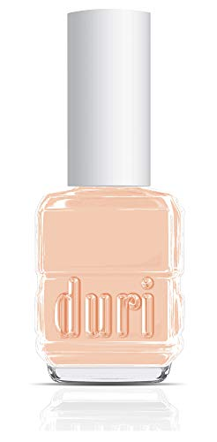 Duri Nail Polish, 721 Silent Spell, Creamy Pastel Beige Lacquers Opaque Coverage, 0.5 fl.oz.