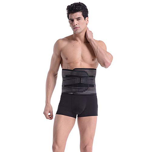 LLZGPZBD neopreen afslanken product taille riem lendenrugsteun riem instelbare lichaamshouding corrector brace rug riem lichtheid