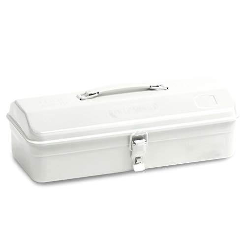 juego de alicates Caja de almacenamiento de Medicina de hierro blanco Caja de herramientas Herramienta de reparación de accesorios de almacenamiento caja del hogar con comodidad Mango y hebilla de met