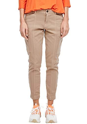s.Oliver Damen Slim Fit: Super skinny ankle leg-Hose 8402 46