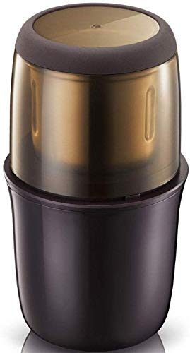 ZJN-JN. Ekspresy do kawy 200 W Elektryczny szlifierka kawy Espresso Mill Kitchen Salt Pepper Fasola Fasola Przyprawy Nakrętki Nasiona Szlifowanie kawy z funkcją ochrony próżniowej Brown .Maszyny do es