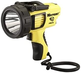 Brand New Waypoint Rechargeable Pistol Grip Spotlight with AC - Yellow