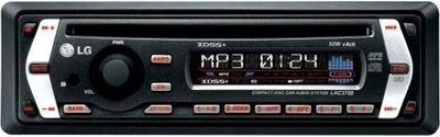 LG LAC 3710 R MP3-CD-Tuner schwarz