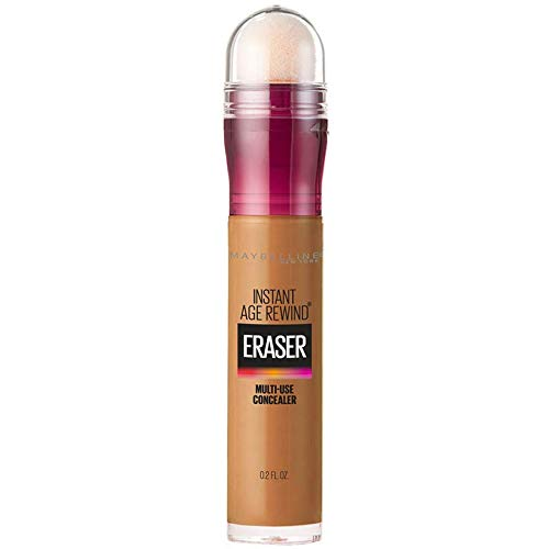 Maybelline Instant Age Rewind Eraser Dark Circles Treatment Multi-Use Concealer, Tan, 0.2 Fl Oz (Pack of 1)