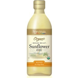 Spectrum Naturals Expeller Pressed Organic High Heat Sunflower O