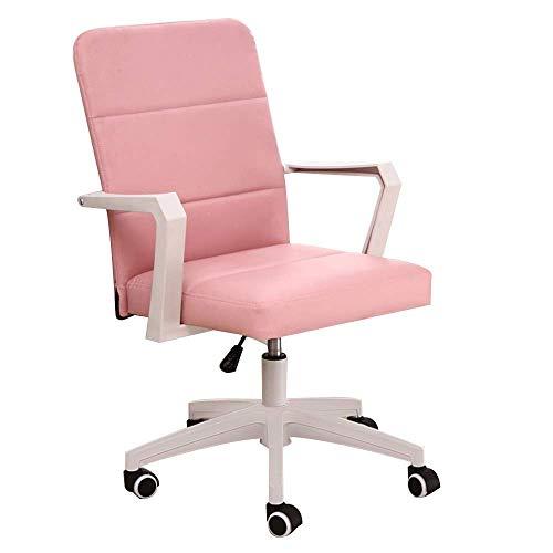 Tägliche Ausrüstung Stuhl Computerstuhl Hohe Rückenlehne Pu Lederspielstuhl Höhe Höhenverstellbar Ergonomisch drehbarer Computerstuhl Einteilige Armlehne Ledertisch Spielstuhl für Besprechungsräume
